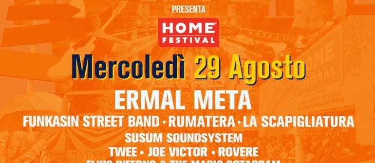 Ermal Meta apre ufficialmente la nona edizione di Home Festival!